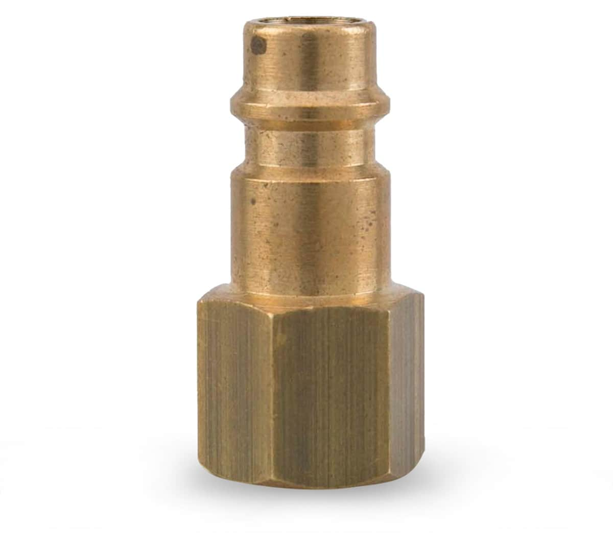 Gentlin Female Brass Coupling (1/4 in.)